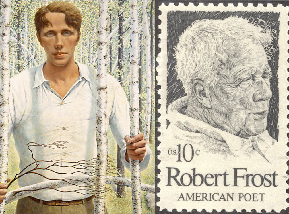 review of robert frosts poem birches Using robert frost's, birches students will review important poetic devices, close read and annotate the poem, view supporting video clips, listen to an npr story.